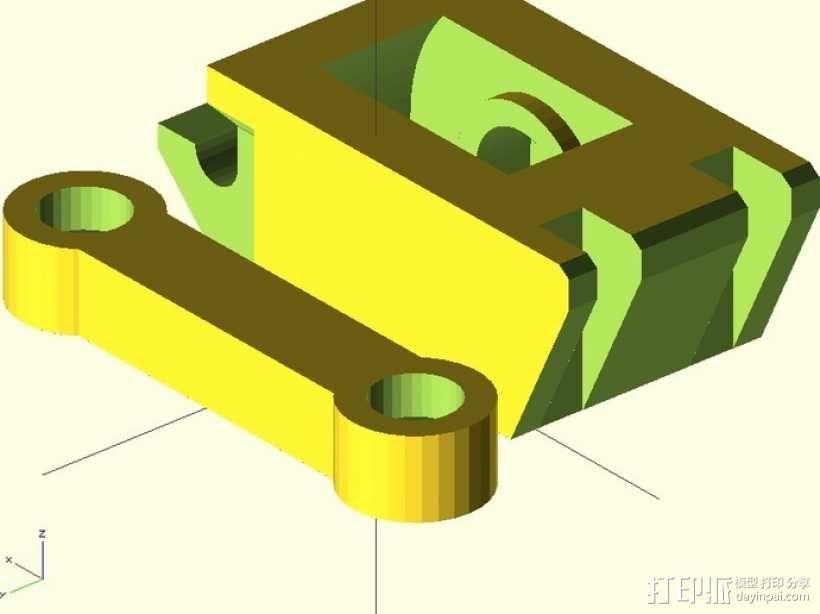 鲍登挤出机 3D模型  图12