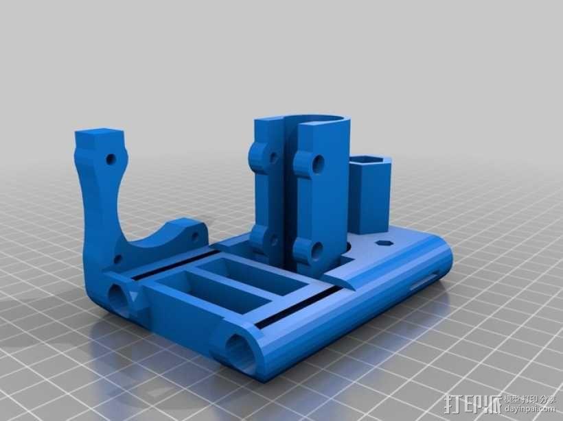 MendelMAX 打印机 3D模型  图3