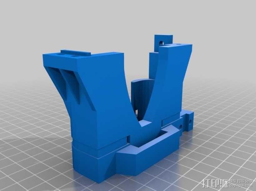 MendelMAX 打印机 3D模型  图19
