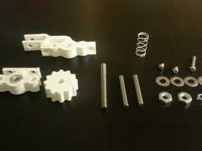 Prusa Mendel打印机Z轴限位开关 3D模型