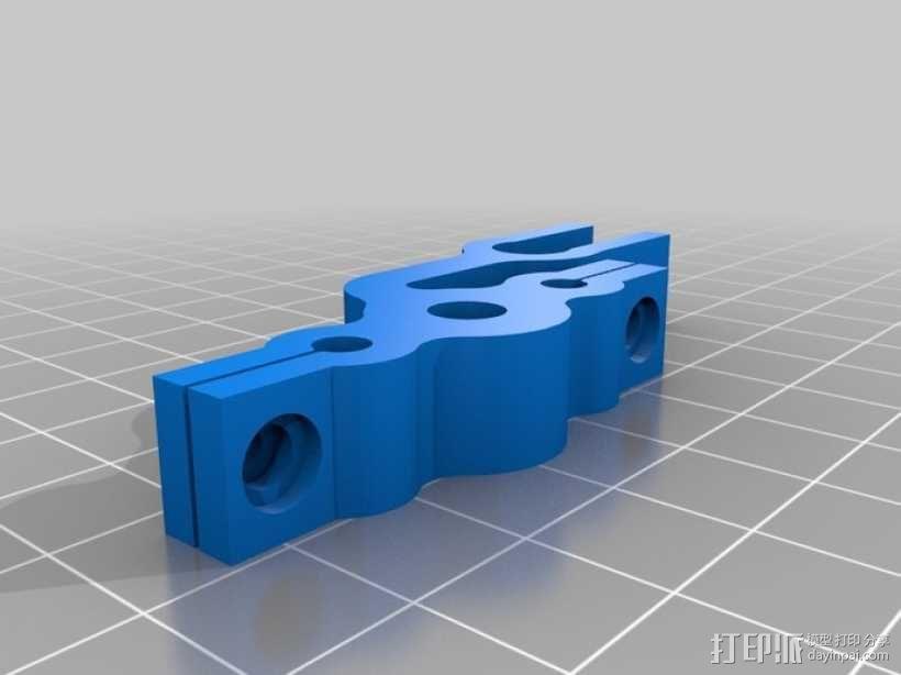 Prusa Mendel打印机Z轴限位开关 3D模型  图5