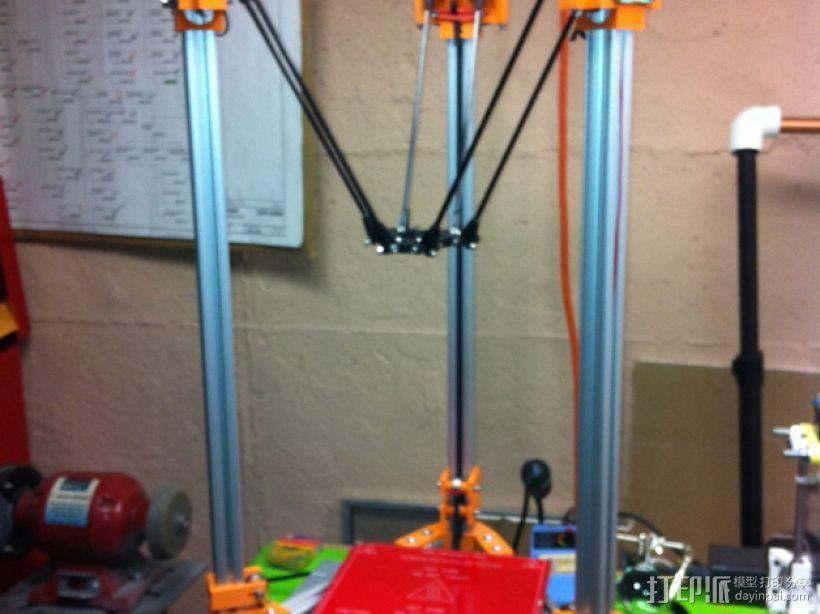 Rostock 打印机 3D模型  图1