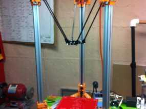 Rostock 打印机 3D模型