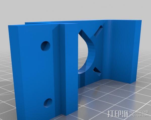 Rostock 打印机 3D模型  图2