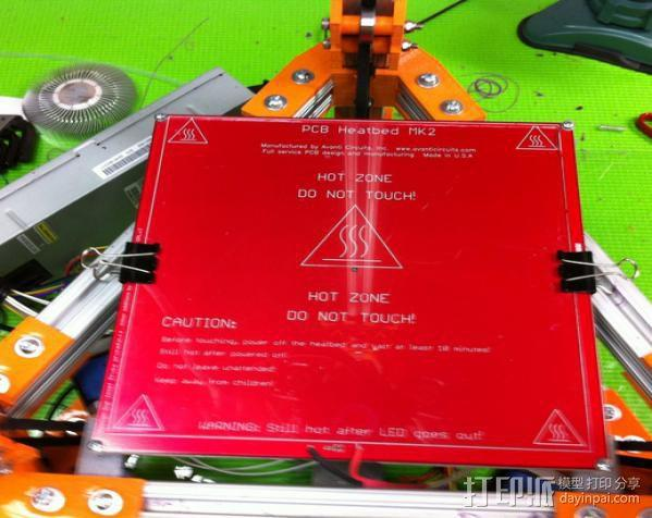 Rostock 打印机 3D模型  图4