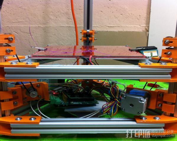 Rostock 打印机 3D模型  图5