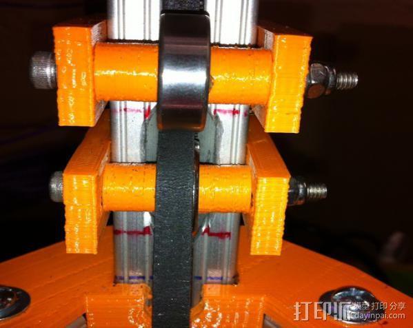 Rostock 打印机 3D模型  图9