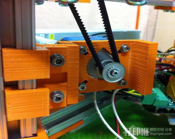 Rostock 打印机 3D模型  图6