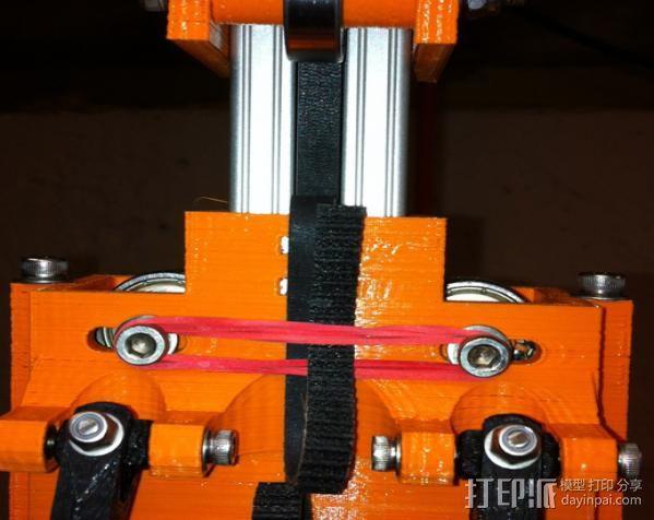 Rostock 打印机 3D模型  图8