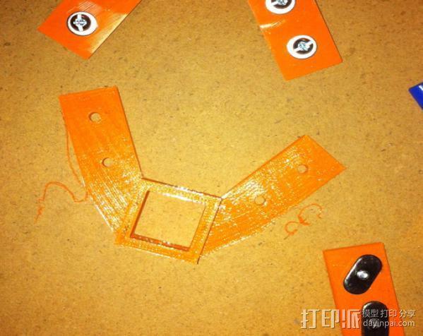 Rostock 打印机 3D模型  图11