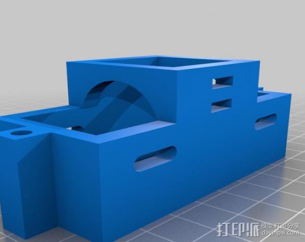 Rostock 打印机 3D模型  图18