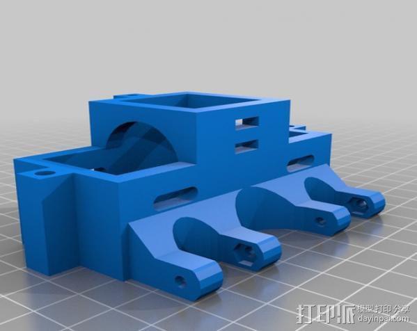 Rostock 打印机 3D模型  图17