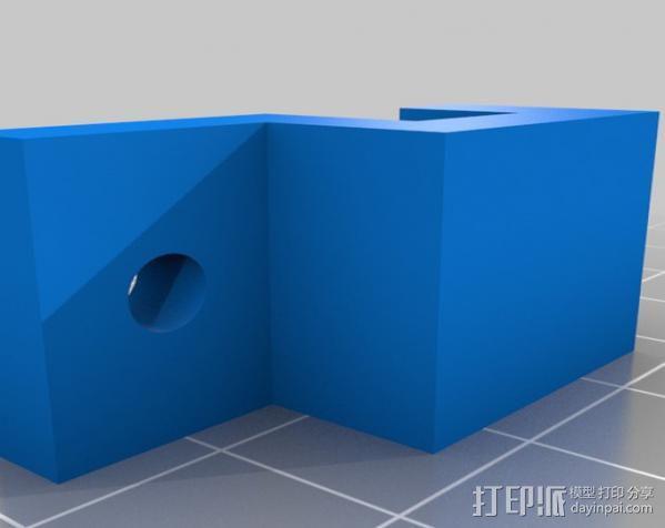 Rostock 打印机 3D模型  图22