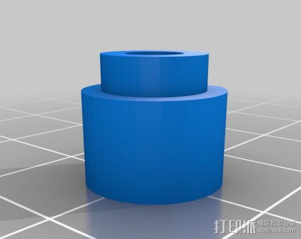 Rostock 打印机 3D模型  图24