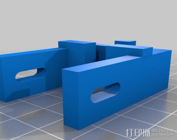 Rostock 打印机 3D模型  图23