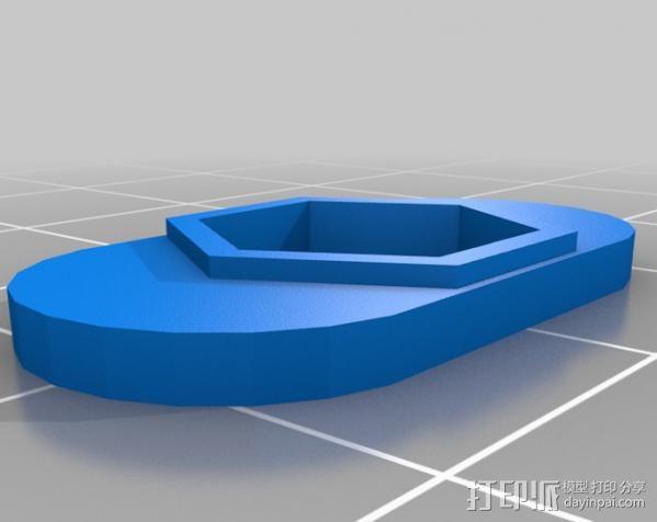 Rostock 打印机 3D模型  图26