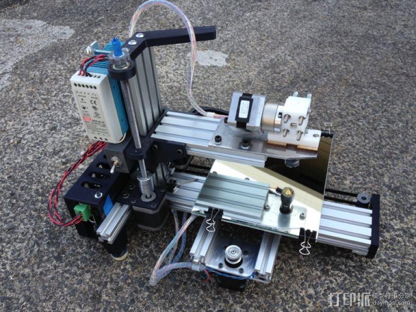 垂直3D打印机 3D模型  图1