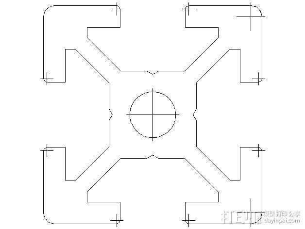 垂直3D打印机 3D模型  图3
