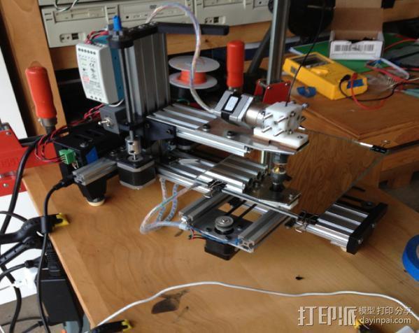 垂直3D打印机 3D模型  图6