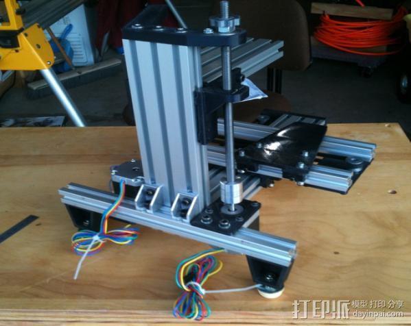 垂直3D打印机 3D模型  图7