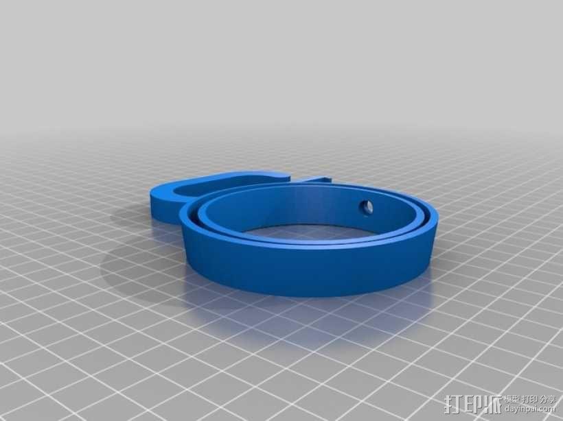咖啡杯杯托 3D模型  图2