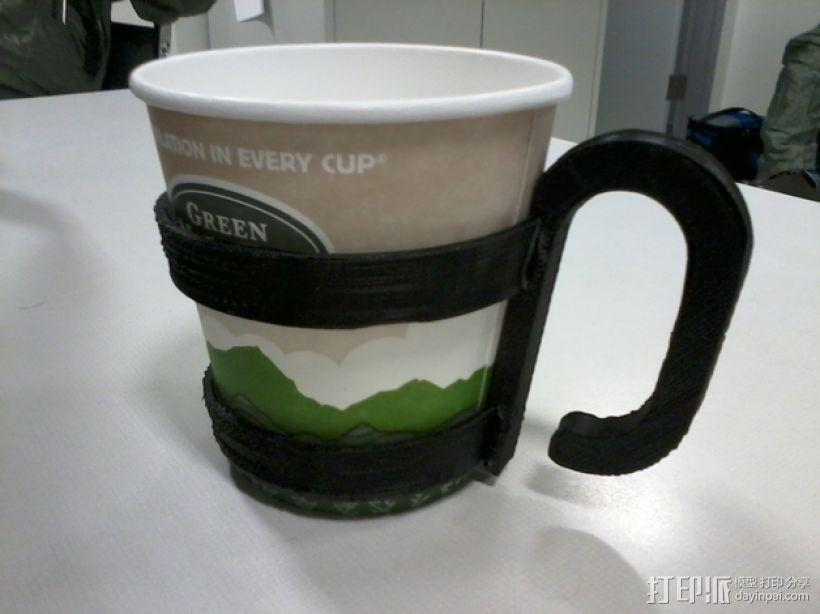 咖啡杯杯托 3D模型  图1