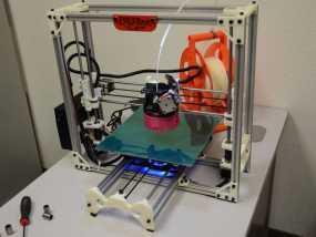 LulzBot自制3D打印机 3D模型