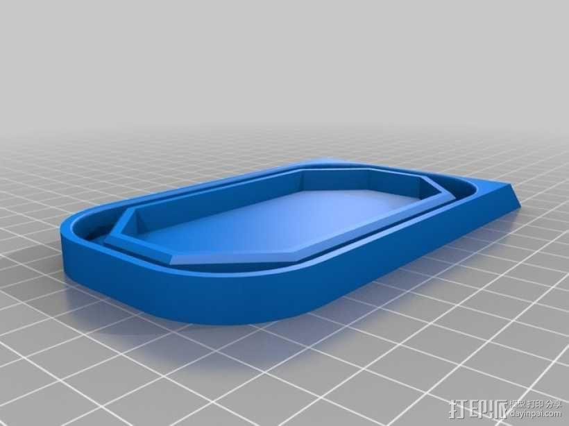 肉罐头盖 3D模型  图1