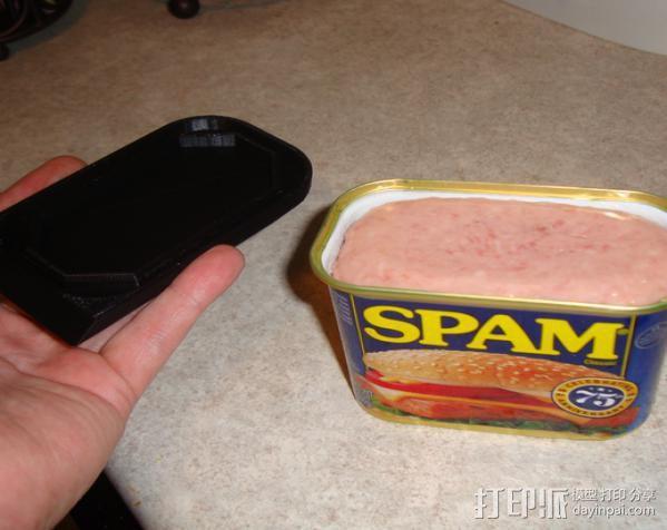 肉罐头盖 3D模型  图3