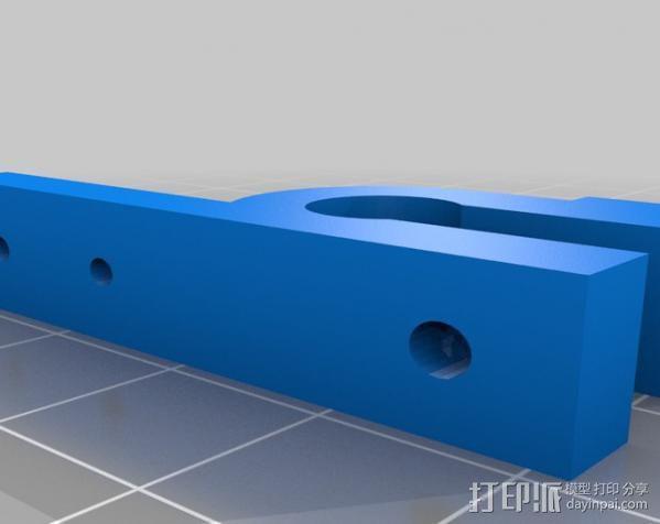 线圈收集器 3D模型  图1