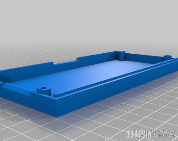 RAMPS LCD 控制器保护套 3D模型  图2