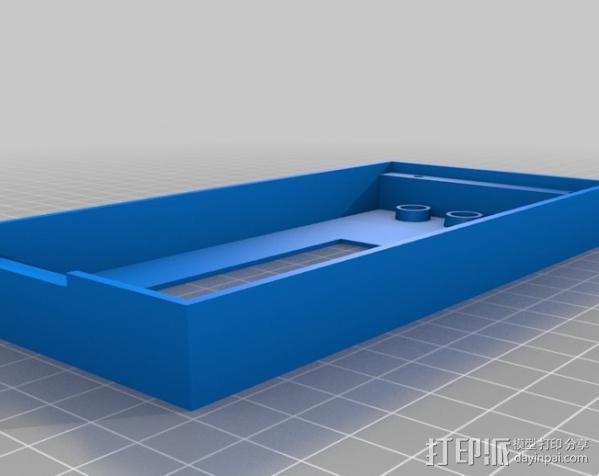 RAMPS LCD 控制器保护套 3D模型  图1