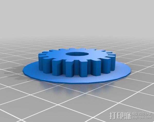送料机 3D模型  图4