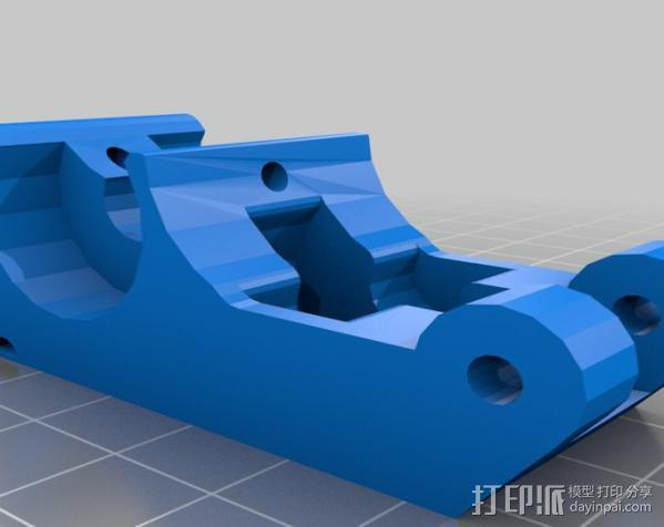 送料机 3D模型  图2