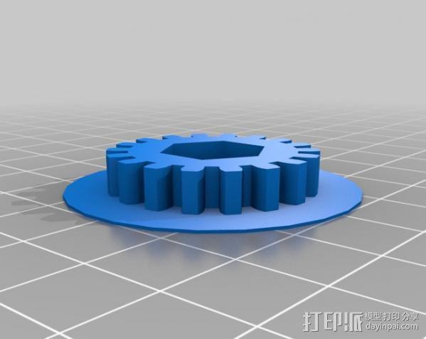 送料机 3D模型  图5