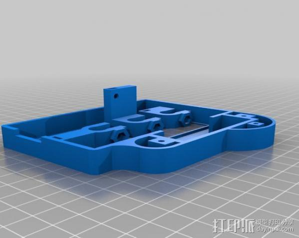 仪表盘保护罩 3D模型  图3