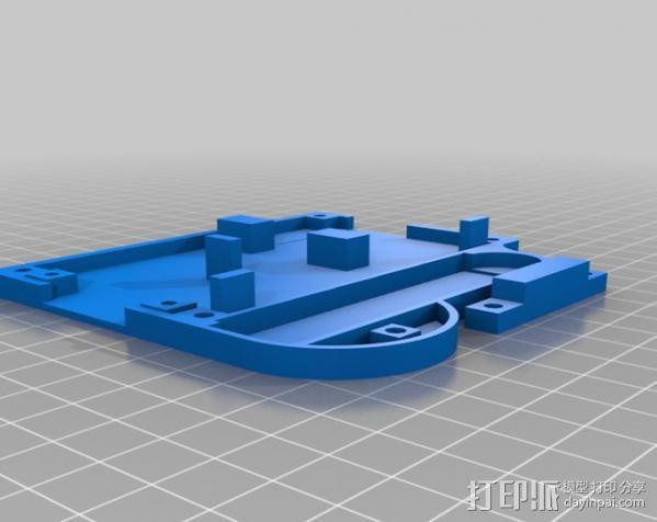仪表盘保护罩 3D模型  图4