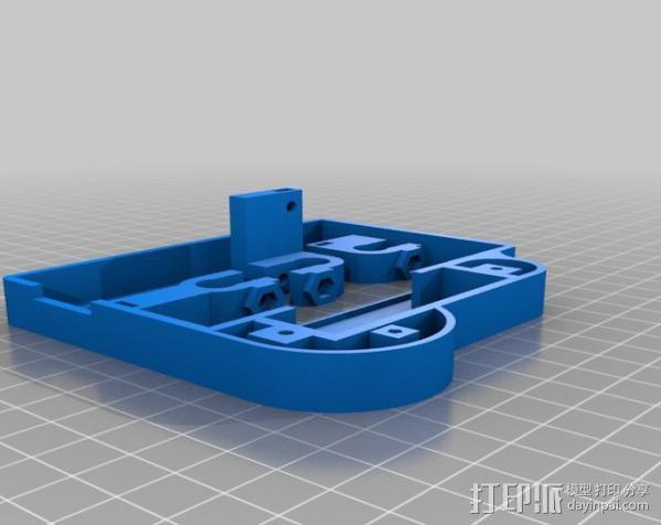 仪表盘保护罩 3D模型  图5