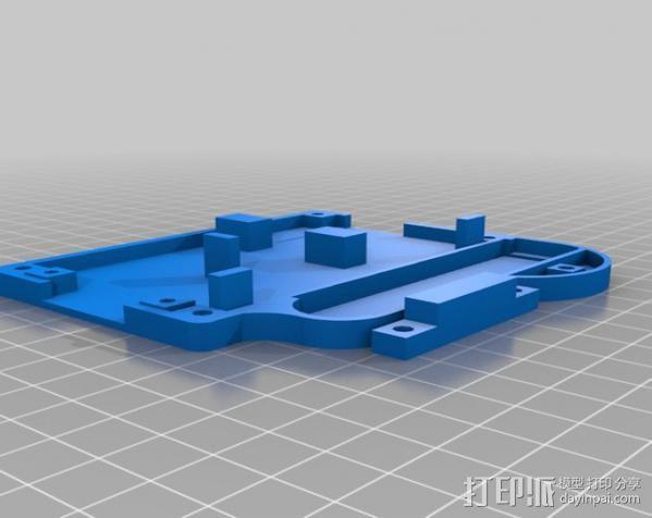 仪表盘保护罩 3D模型  图6