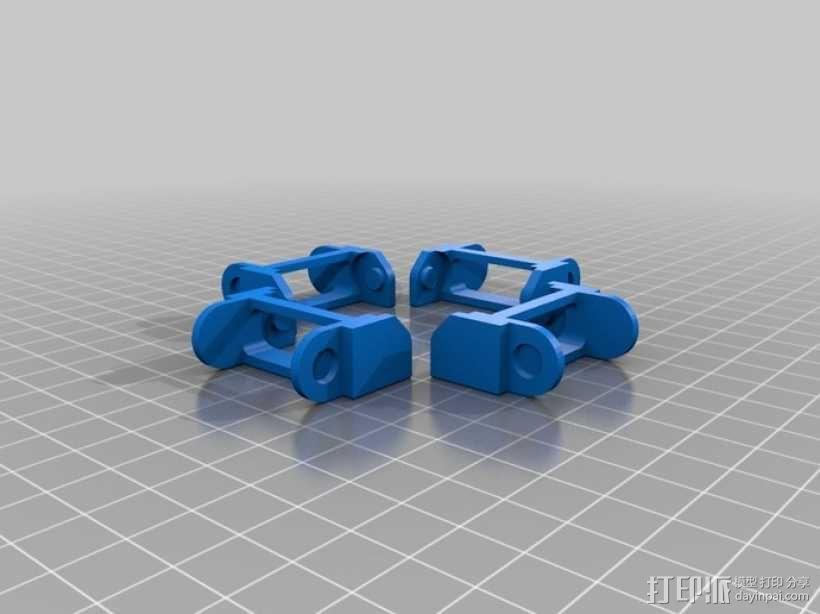 PrintrBot打印机锚链 3D模型  图3