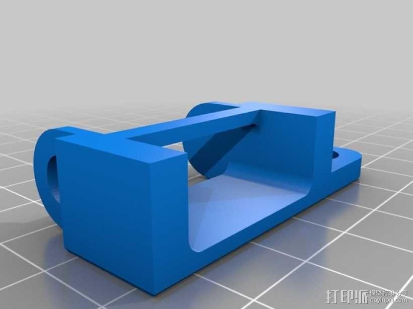 PrintrBot打印机锚链 3D模型  图2