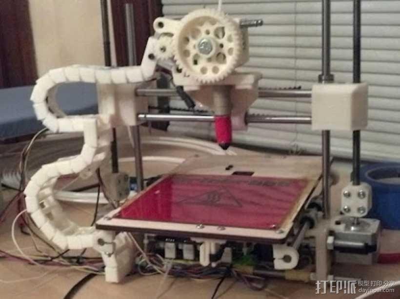 PrintrBot打印机锚链 3D模型  图5