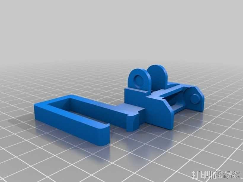 PrintrBot打印机锚链 3D模型  图7