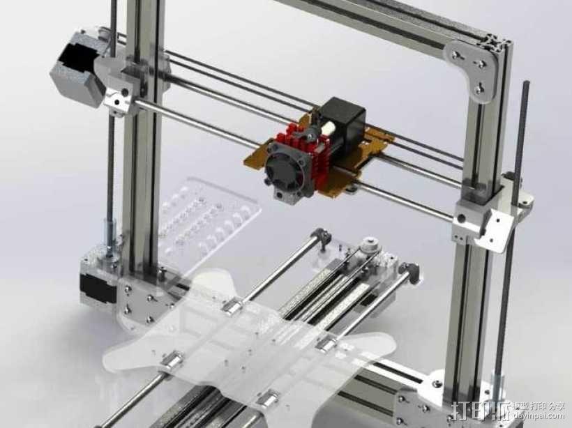 Bukobot 3D打印机 3D模型  图1