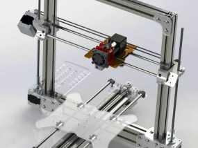 Bukobot 3D打印机 3D模型