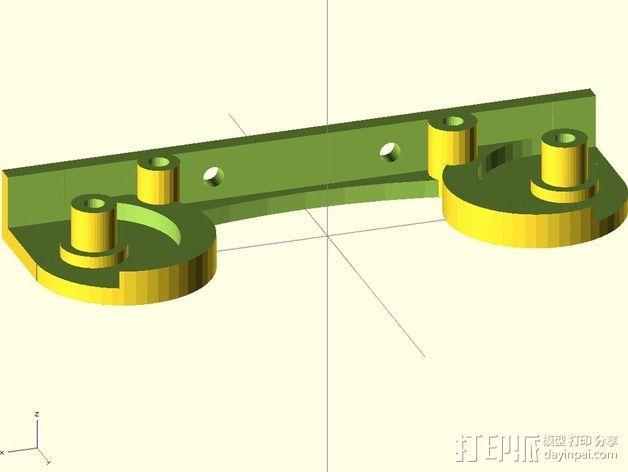 打印机线轴架 3D模型  图5