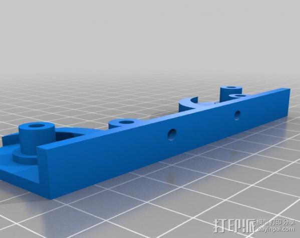 打印机线轴架 3D模型  图4