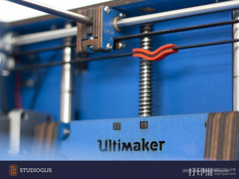 Ultimaker打印机皮带张紧器 3D模型  图2