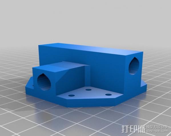矩形盒式结构3D打印机 3D模型  图5