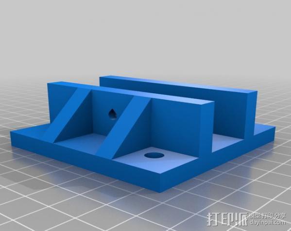 矩形盒式结构3D打印机 3D模型  图8